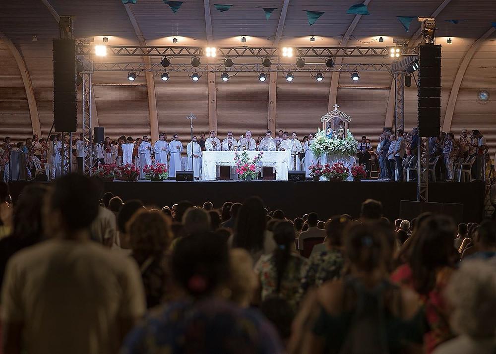 Missa solene de encerramento do novenário 2018/Foto: Ribamar Carvalho