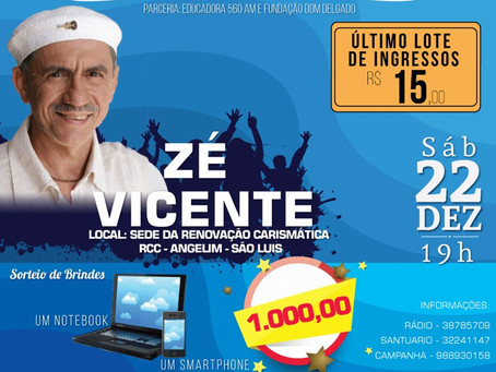 Zé Vicente em São Luís