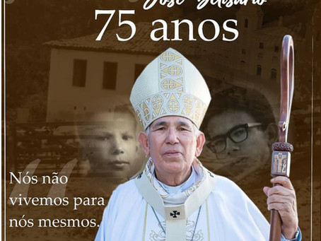 A Arquidiocese celebra 75 anos do seu arcebispo