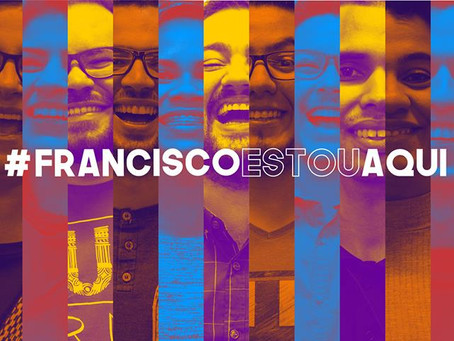 #franciscoestouaqui : Campanha da SIGNIS Brasil Jovem ganha apoio de catolicos de todo o país