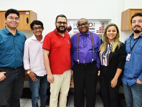 Setor de Comunicação da Arquidiocese em visita ao Tribunal de Justiça do Maranhão