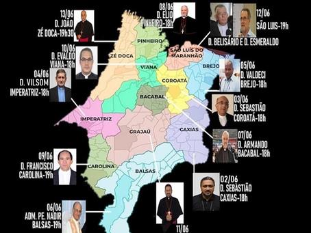 Bispos do Maranhão celebrarão missas em favor do estado e do país