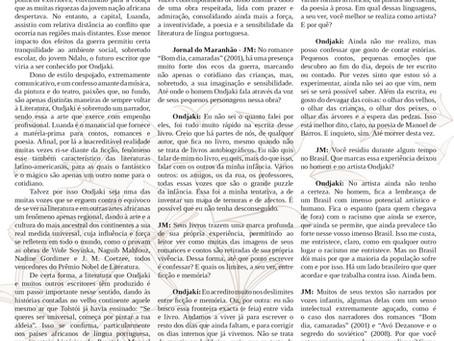 Especial Literaturas em língua portuguesa: Ondjak