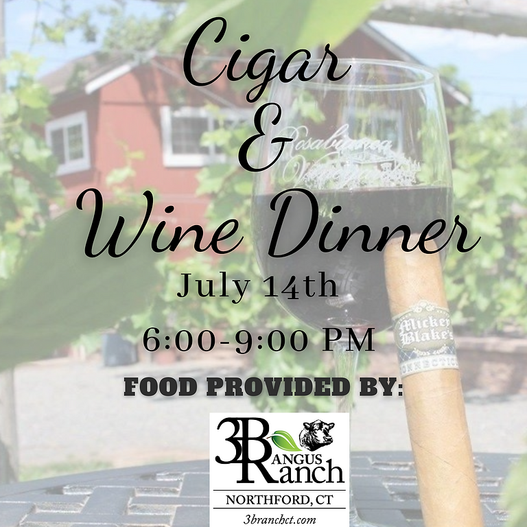 July Cigar and Wine Dinner