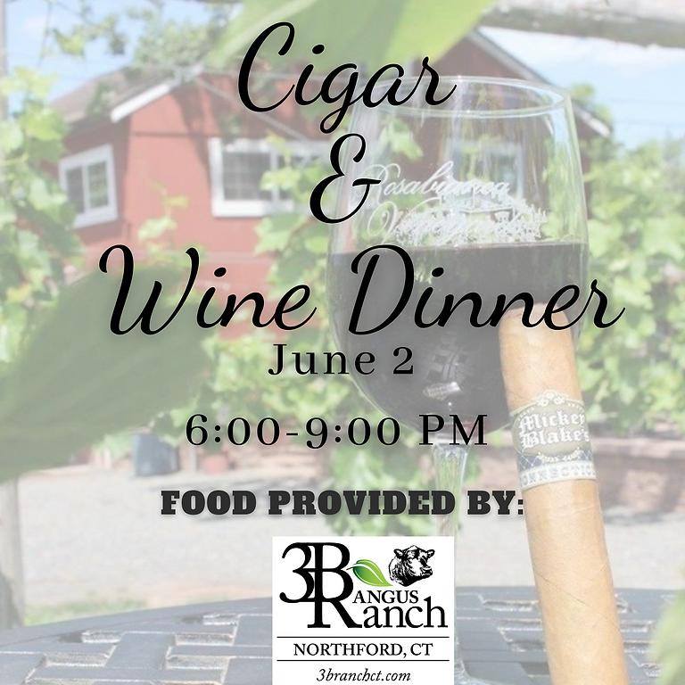 Cigar and Wine Dinner Night