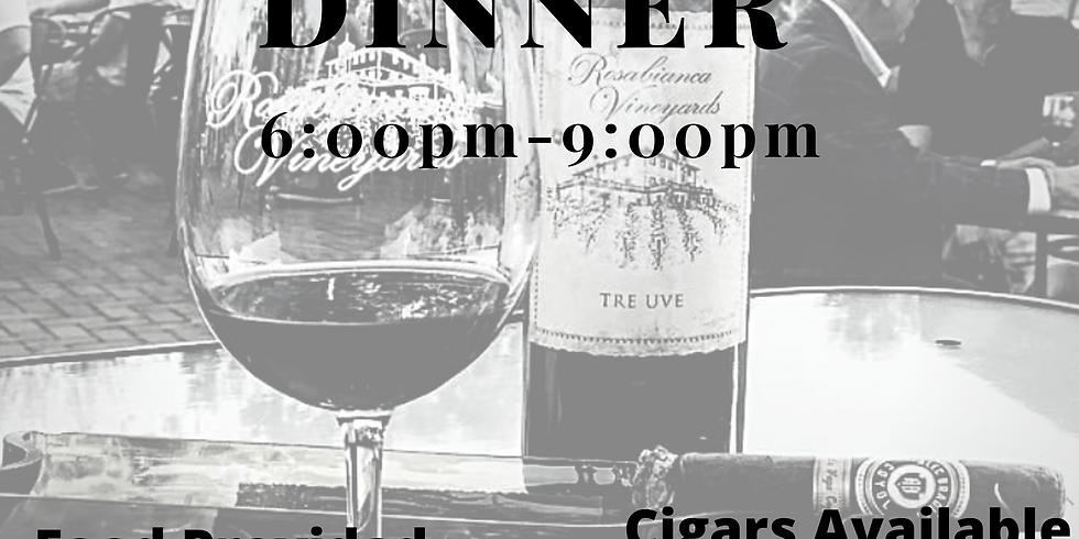 September Cigar and Wine Dinner