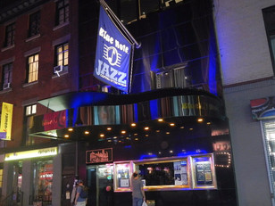 Colin Hunter plays the legendary blue Note to a loving crowd. Blue Note says he will be back