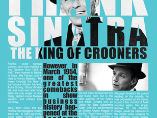 Frank Sinatra is the Crooner of all time