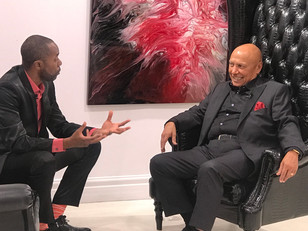 Popular TV host to the stars Malik Shaheed sits down for Q&A at Galerie 203 with Colin Hunter.
