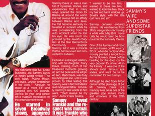 Read about Sammy Davis Jr. in The Crooner