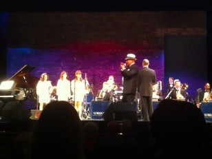 Colin Hunter performs with The Anthony Terpstra big band show