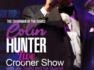"""Colin Hunter is a smash success at Montreal's newest Jazz club """"Biddles jr""""."""