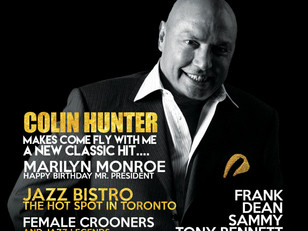 The Crooner Newspaper launches with Colin Hunter on the cover