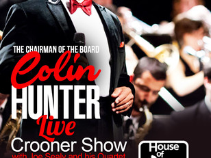Colin Hunter brings the house down at Montreal's House of Jazz......
