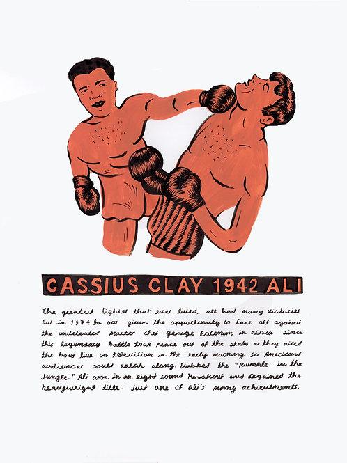 Cassius Clay 1942
