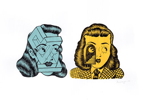 Our minds are a maze. Stella & Washy