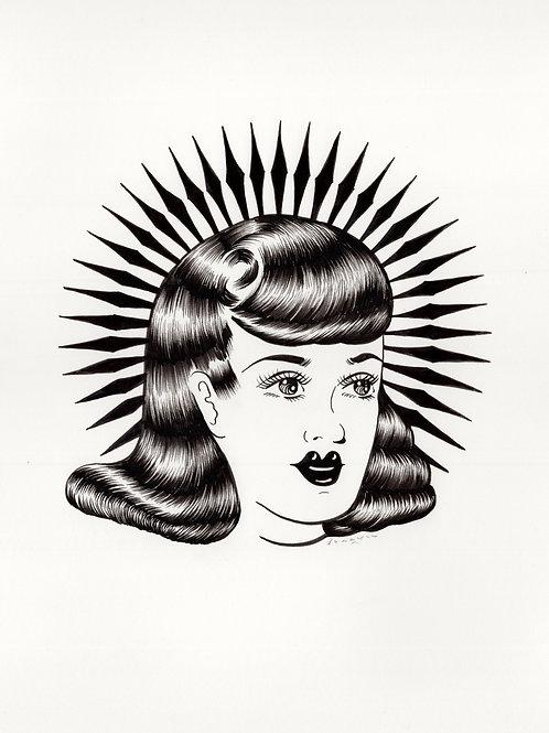Sun Sister Windy Portrait