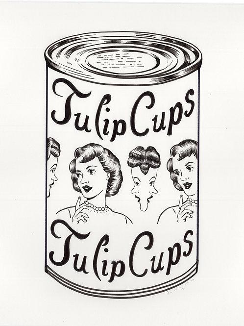 Tulip Cups - Sandy