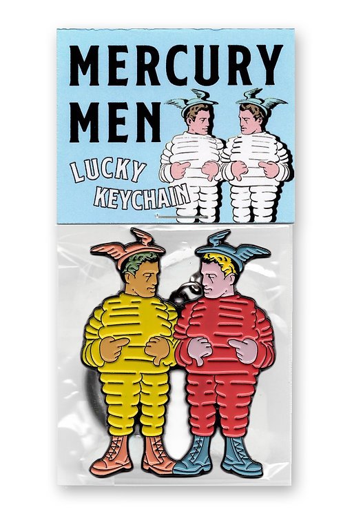 Lucky Mercury Men Keychain Edition of 100