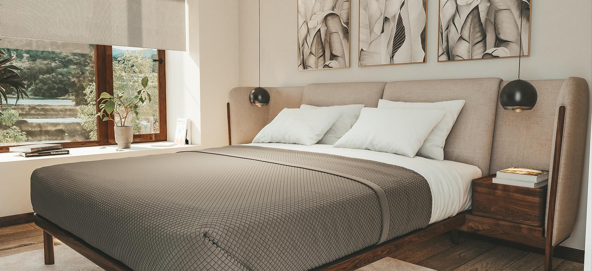 Dormitorio departamento B / Etapa II