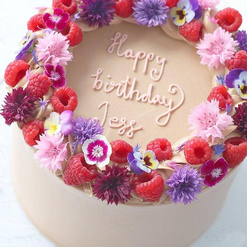 "7"" Celebration Cake (16-20 portions)"