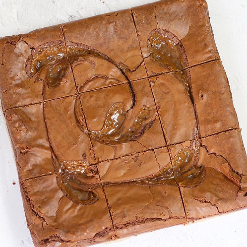 Salted Caramel Brownie
