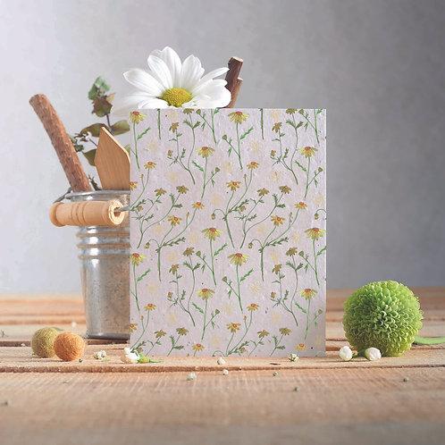 Plantable Greetings Card - Chamomile
