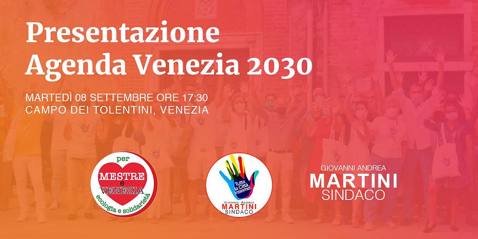 Presentazione Agenda Venezia 2030