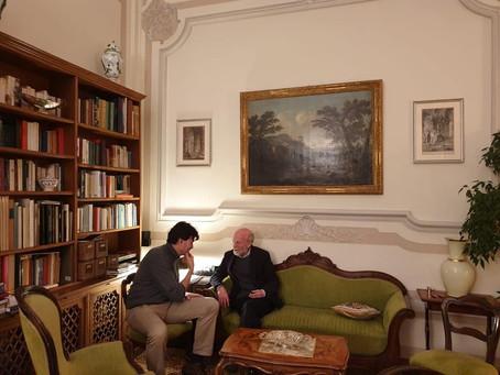 Con il corrispondente del The Wall Street Journal a parlare di Venezia.