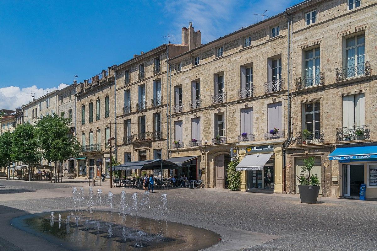 Pézenas Cours Jean-Jaures