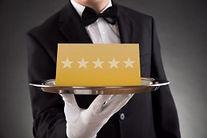 Nous vous offrons un service sur mesure 5 étoiles
