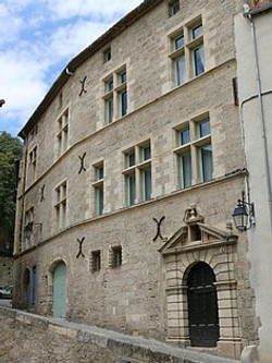 Pézenas hôtel du Boudoul