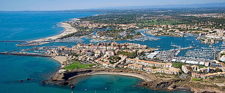 cap d'agde, le cap d'agde, agde, village naturiste, plage richelieu, port du cap d'agde, palais des congrès
