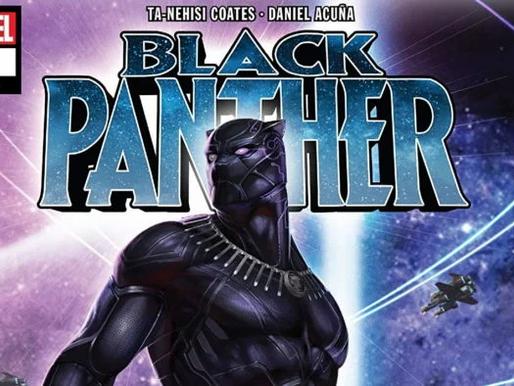 Quadrinhos do Pantera Negra são disponibilizados gratuitamente na Amazon