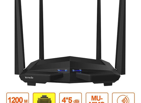 Dual Band Wi-Fi Router 1200Mbps