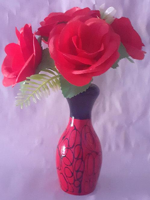 Red Flower RedB WPot