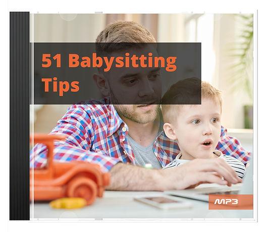 51 Babysitting Tips Audio Book Plus Ebook