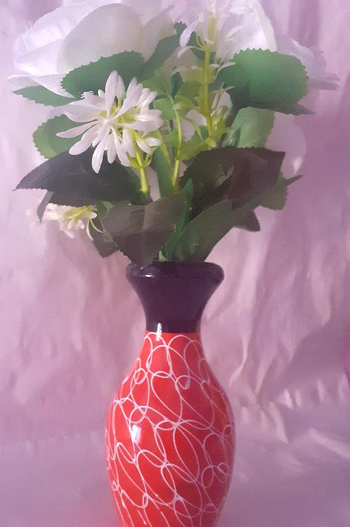 White Flower RedW WPot