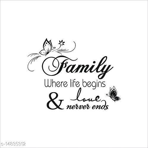 Family Wall Sticker
