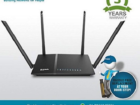 Dual-Band Gigabit Wi-Fi Router with speed upto 1200Mbps
