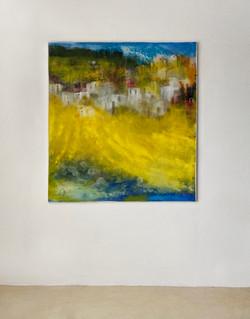 yellow Landscape 130/120cm