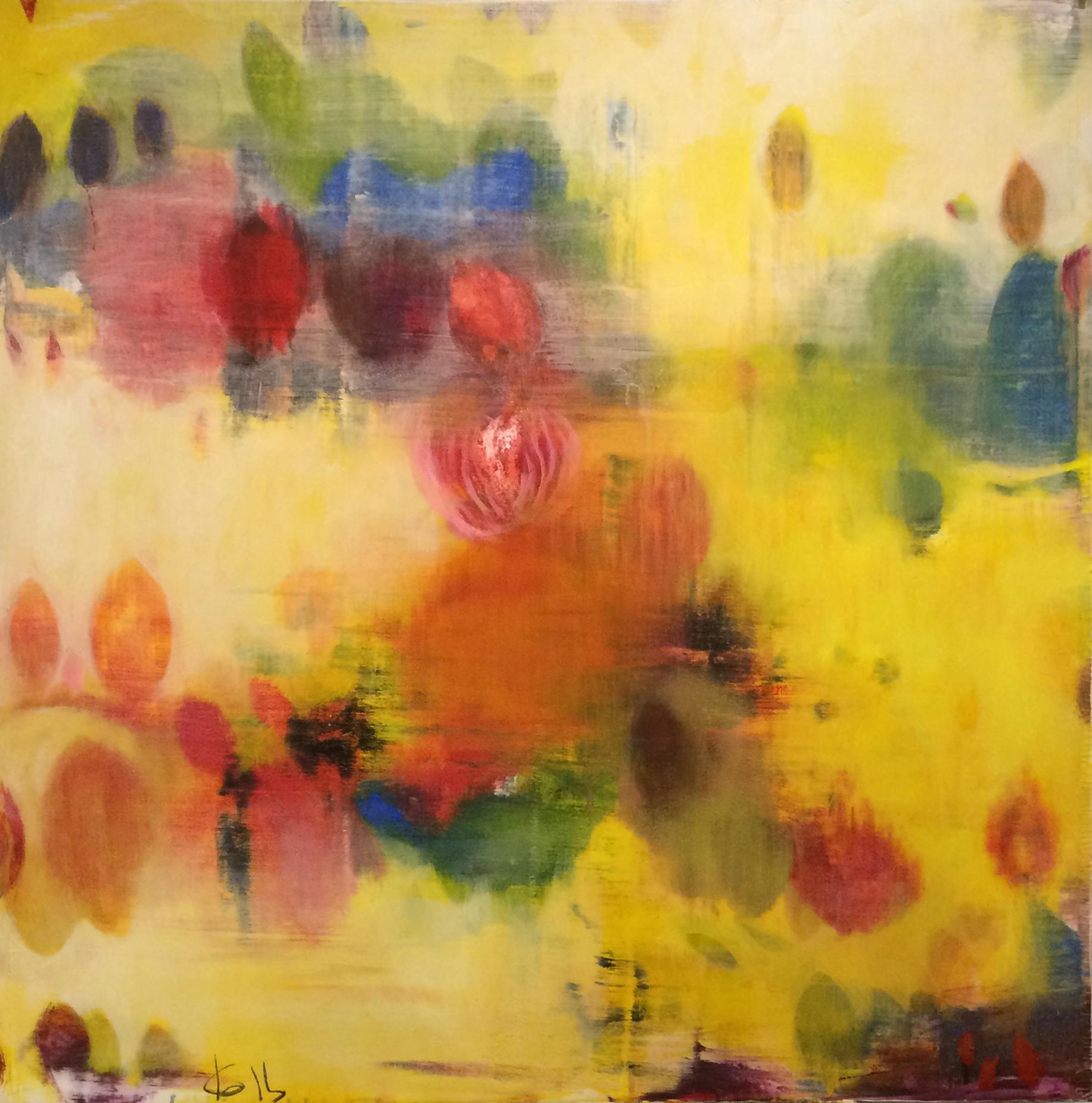 Mixed Media on Canvas 100/100cm