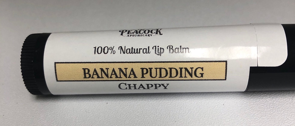 Banana Pudding Chappy (lip balm)