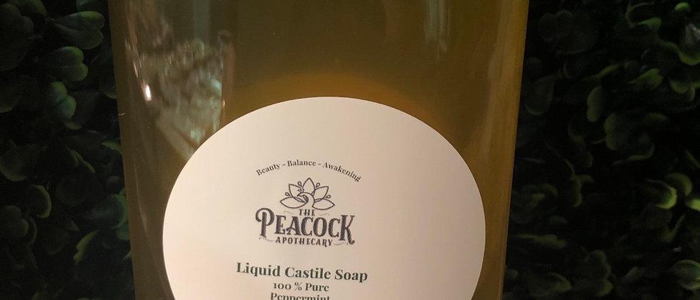 Peppermint Castile Soap 16 oz.