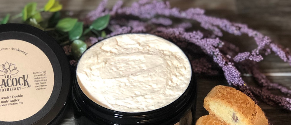Lavender Cookie Body Butter 8 oz