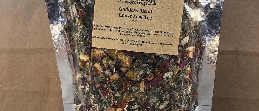 Goddess Blend loose leaf tea