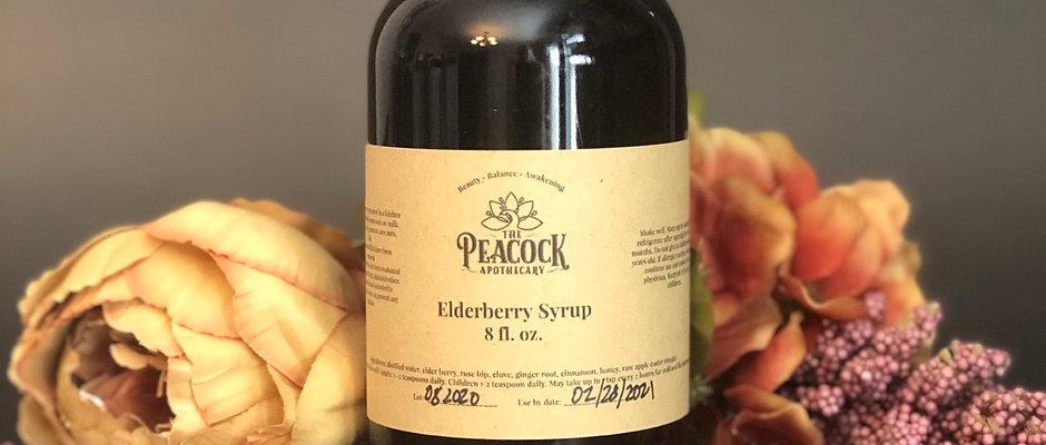 Elderberry Syrup 8 oz