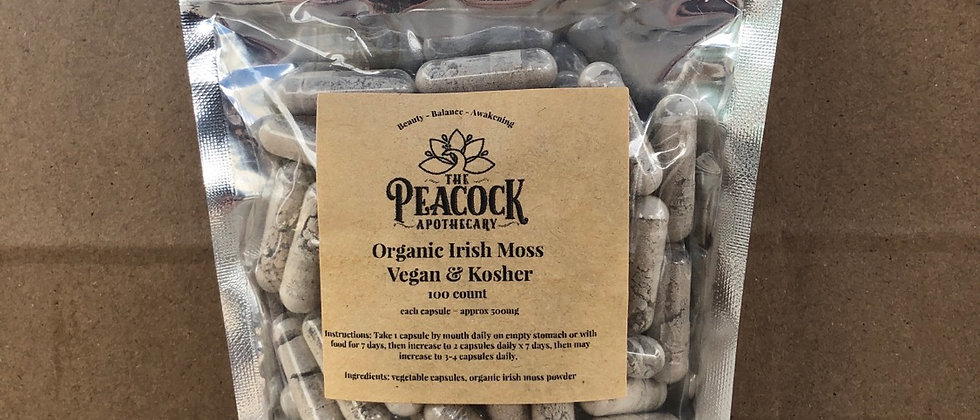 Organic Irish Sea Moss Capsules