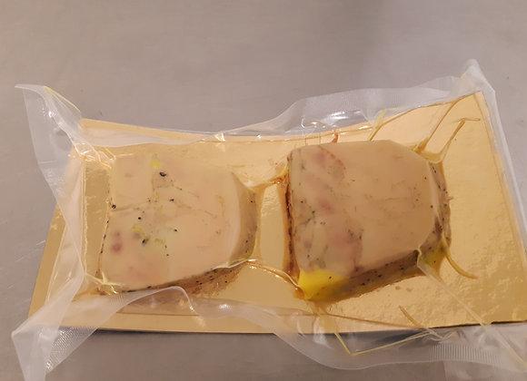 Foie gras mi-cuit 2 tranches