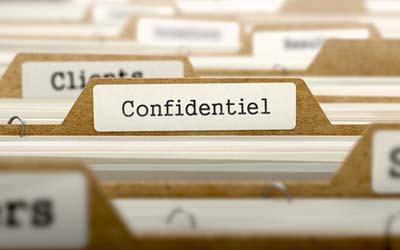Classement - Archivage - Confidentialité